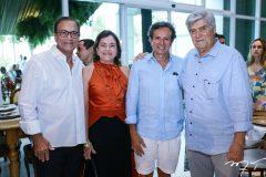 Beto e Ana Studart, Aderaldo Silva e Amarílio Macedo