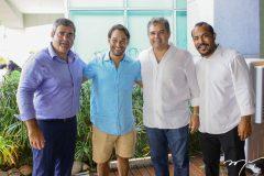 Carlo Dale, Cláudio Rocha, Edson Queiroz Neto e Antônio Almeida