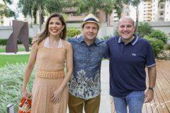 Carol Bezerra, Igor Barroso e Roberto Cláudio
