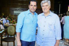 Etevaldo Nogueira e  Amarílio Macedo
