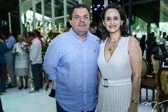 Fernando Férrer e Adriana Miranda