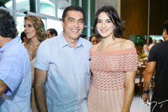 Idésio e  Mariana Rolim