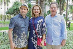 Igor Barroso, Lenise e Cláudio Rocha
