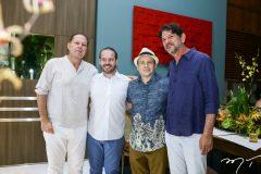 Júlio Ventura, Prisco Bezerra, Igor Barroso e Cid Gomes