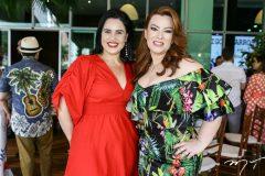 Lícia Pontes e Aline Félix