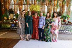 Lívia Cláudia, Vera Majela, Aline e Adriana Félix