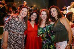 Lívia Pádua, Lissa Pontes, Aline Barroso e Caroline Marcondes