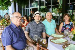 Lúcio Alcântara, Igor Barroso, José Gonzales e Lena Marcílio