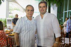 Max Perlingeiro e Edson Queiroz Neto