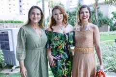Patrícia Macedo, Aline Félix e Carol Barroso