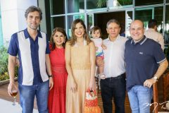 Rui do Ceará, Socorro Rabelo, Carol Bezerra, Fernanda, João Rabelo e Roberto Cláudio