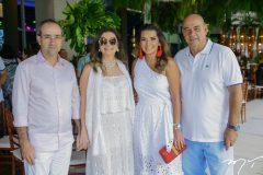Sérgio Rezende, Emília Buarque, Márcia e Fernando Travessoni