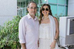Sérgio Rezende e Emília Buarque