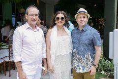 Sérgio Rezende, Emília Buarque e Igor Queiroz Barroso
