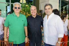 Talles  Sá Cavalcante, Silvio Frota e Edson Queiroz Neto