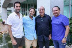Victor Frota, Cláudio Rocha, Sílvio Frota e Max Bezerra