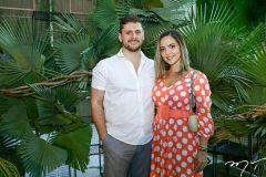 Victor Perlingeiro e Maria Braz