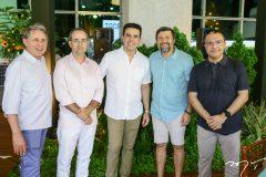 Vilmar Ferreira, Sérgio Rexende, Nisabro Fujita, Élcio Batista e Daniel Demétrio