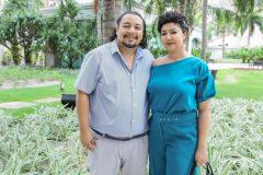 Vinícius e Mayra Borges