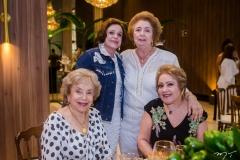 Cleusa Pontes, Sueli Belém, Gabriela de Castro e Eliana Cavalcante