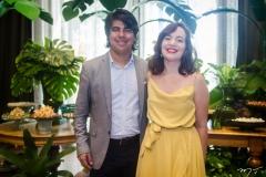 Estênio Gonçalves e Gabriela Willis