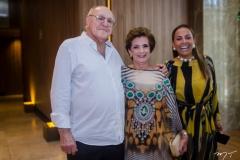 Luis Marques, Regina Aragão e Gil Santos