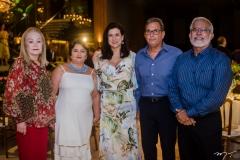 Mônica Arruda, Catia Cunha Matos, Sandra, Geraldo Gomes de Matos e Manuel Pereira