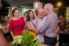 Norma, Carol Bezerra, Roberto Cláudio e Humberto Bezerra