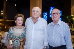 Regina Aragão, Luis Marques e Lúcio Alcântara
