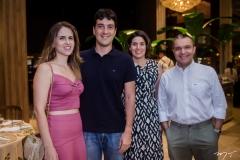 Sarah Mota, Gonzalo Mota, Ticiana e Daniel Demetrio