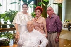 Silvana, Adauto Bezerra, Josilda e Walter Belchior