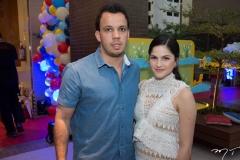 Alexandre e Hanna Félix