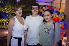 Janaína, Nicola E Marina Melo