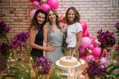 Lara Cisnando, Karmilse Marinho e Daniele Filgueiras