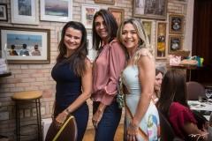 Lara Cisnando, Rebeca Albuquerque e Silvia Diogo