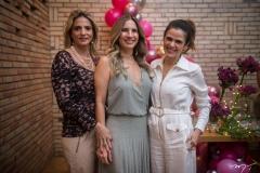 Michele Aragão, Karmilse Marinho e Niedja Bezerra