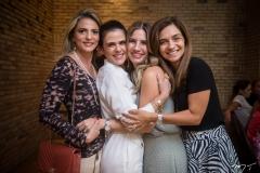 Michele Aragão, Niedja Bezerra, Karmilse Marinho e Cristina Brasil