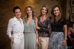 Niedja Bezerra, Karmilse Marinho, Michele Aragão e Cristina Brasil