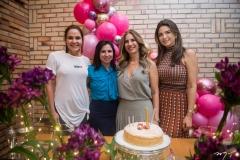 Rafela Pinto, Mariana Tomaz, Karmilse Marinho e Rachel Teixeira