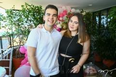 Ailton Neto e Sophia Guilhon