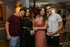 Cláudio Dias Branco, Sophia Guilhon, Marcela Dias Branco e André Cavalcante