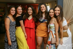 Eduarda Linhares, Maria Beatriz Bezerra, Ana Beatriz Pacheco, Mirela Bezerra, Maria Aguiar e Mariana Marques