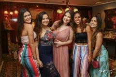 Gabriele Fernandes, Luna Goes, Marcela Dias Branco, Ester Lira e Sarah Rabelo
