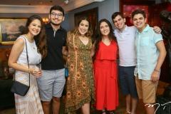 Larissa Amorim, Pedro Arthur, Larissa Delfino, Ana Beatriz Castro, André Cavalcante e Raul Rocha