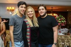 Lucca, Morgana e Luciano Dias Branco
