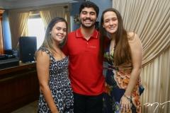 Maria Eduarda Linhares, Thiago e Paula Meneses