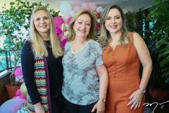 Morgana Dias Branco, Tânia Teixeira e Suyane Dias Branco