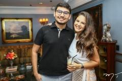 Pedro Arthur e Larissa Amorim