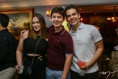 Sophia Guilhon, Cláudio Dias Branco e André Cavalcante