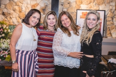 Gina Studart, Tania Albuquerque, Safira Saboia e Érika Queiroz